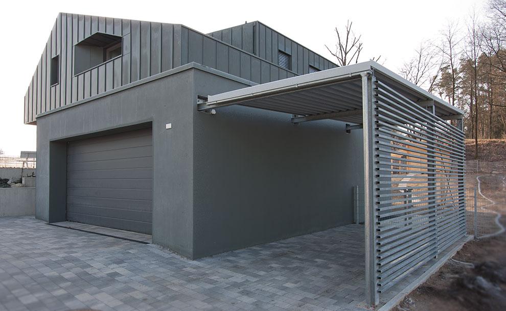 Einfamilienhaus neubau mit garage  Villa mit Seeblick - ARCHI VIVA Architekten