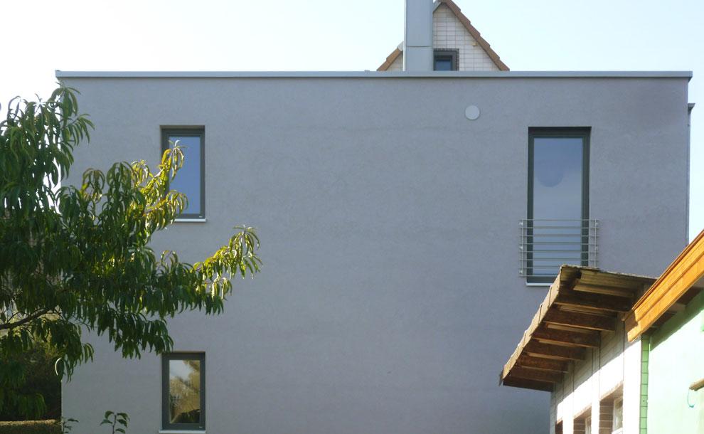 anbau an ein bestehendes wohnhaus 1 archi viva architekten. Black Bedroom Furniture Sets. Home Design Ideas